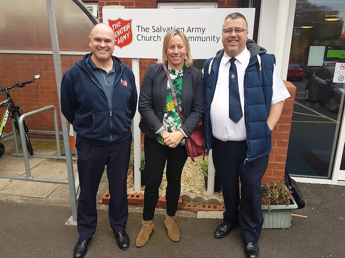 Surplus food offers a welcome boost to the Salvation Army